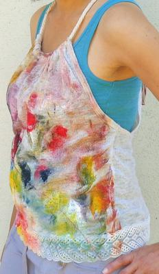 Hand Painted Top